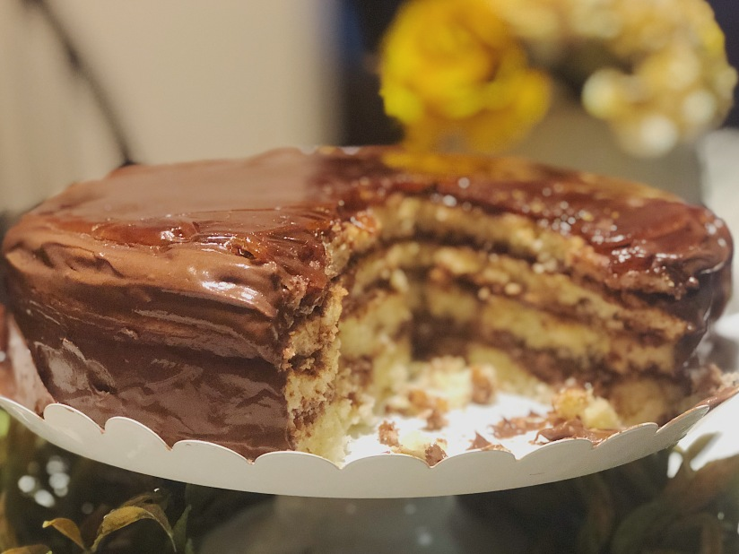 """Mexican Chocolate"" Dobos Torte"