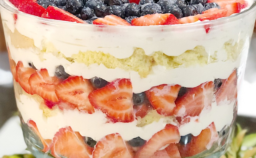 Boozy Berry Trifle